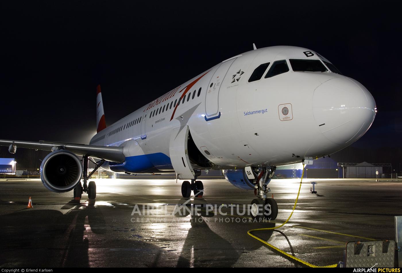 Austrian Airlines/Arrows/Tyrolean OE-LBA aircraft at Trondheim - Vaernes