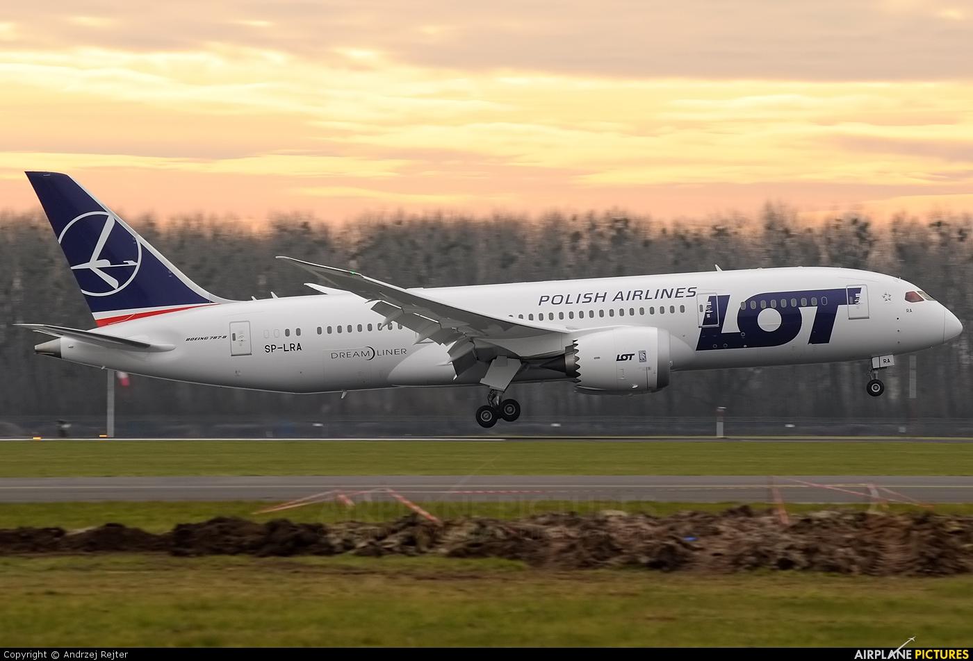 LOT - Polish Airlines SP-LRA aircraft at Wrocław - Copernicus