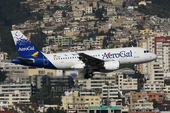 HC-CKN - Aerogal Airbus A319