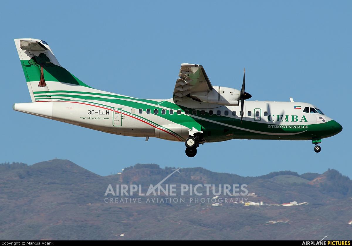 Ceiba Intercontinental 3C-LLH aircraft at Las Palmas de Gran Canaria