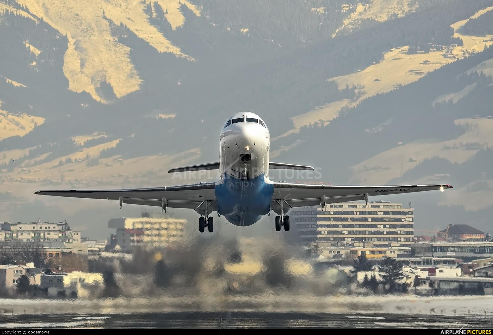 Austrian Airlines/Arrows/Tyrolean OE-LVJ aircraft at Innsbruck