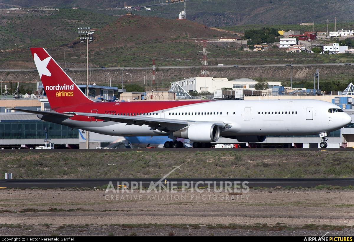 Nordwind Airlines VQ-BMQ aircraft at Tenerife Sur - Reina Sofia