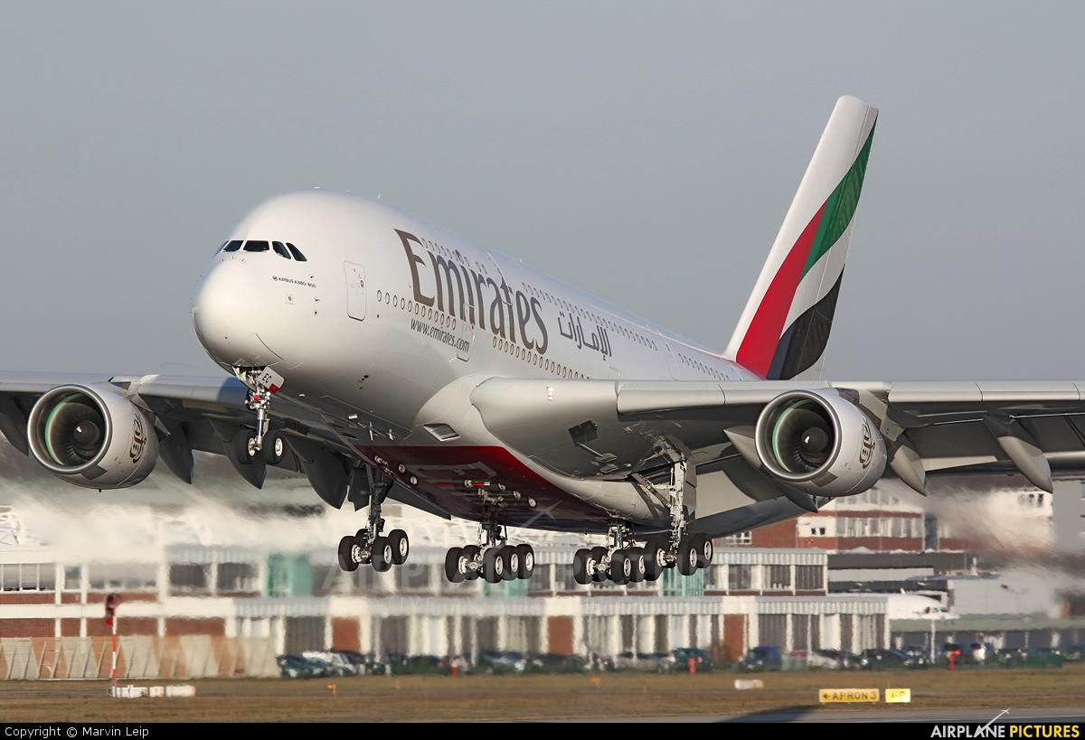F wwae emirates airlines airbus a380 at hamburg finkenwerder photo id 252094 airplane - Emirates airlines paris office ...