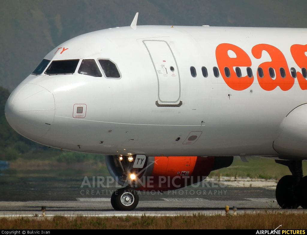 easyJet G-EZTY aircraft at Corfu - Ioannis Kapodistrias
