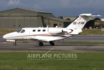 OE-FHK - Globe Air Cessna 510 Citation Mustang