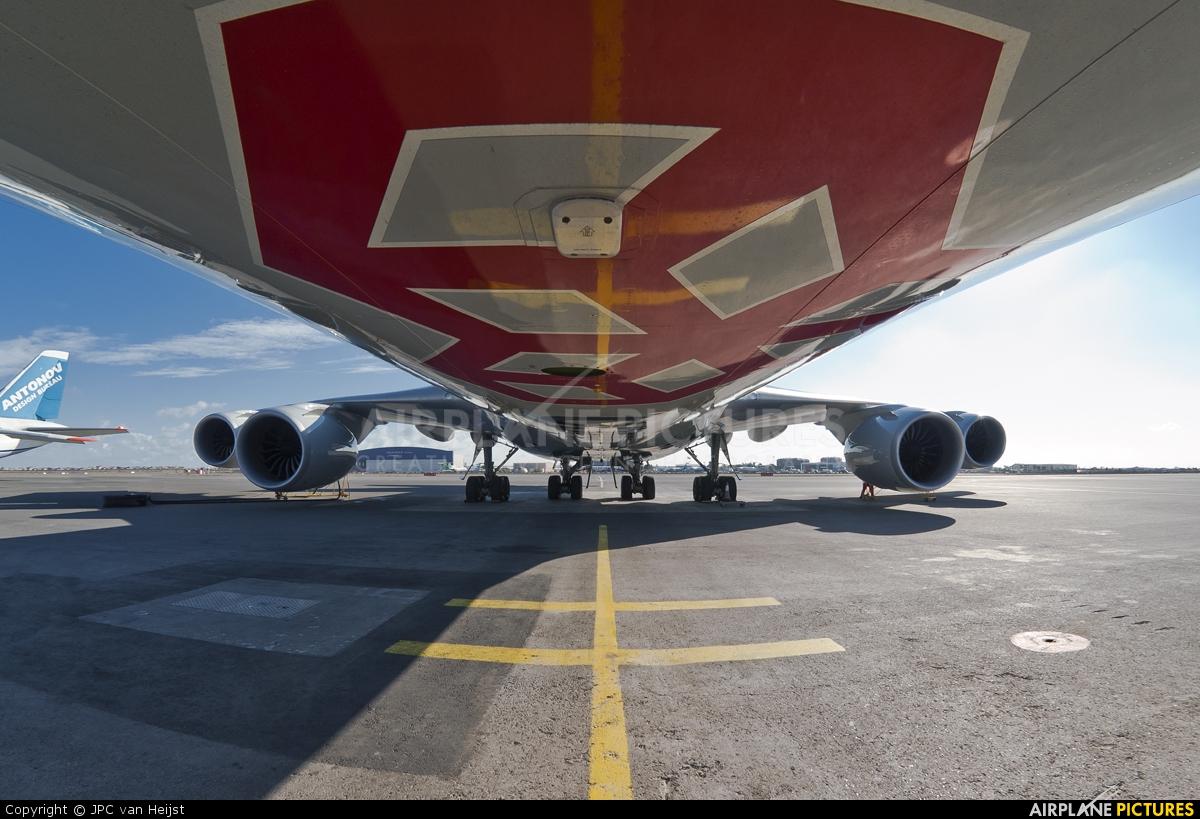 Cargolux LX-VCD aircraft at Baku - Bina / Heydar Aliyev Intl