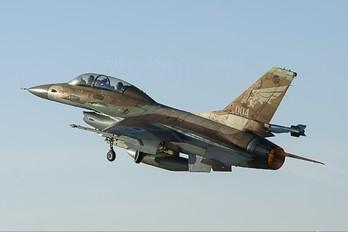 258 - Israel - Defence Force General Dynamics F-16B Netz