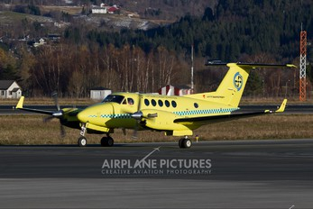 LN-LTI - Lufttransport Beechcraft 200 King Air