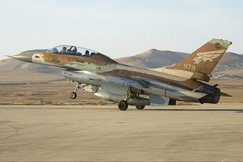 979 - Israel - Defence Force General Dynamics F-16B Netz