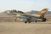 979 - Israel - Defence Force General Dynamics F-16B Netz aircraft