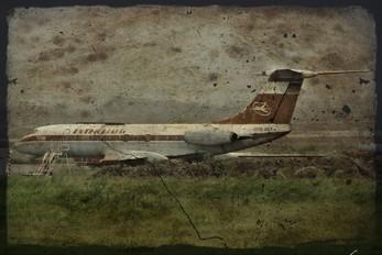 DDR-SCF - Interflug Tupolev Tu-134