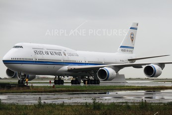 9K-GAA - Kuwait - Government Boeing 747-8
