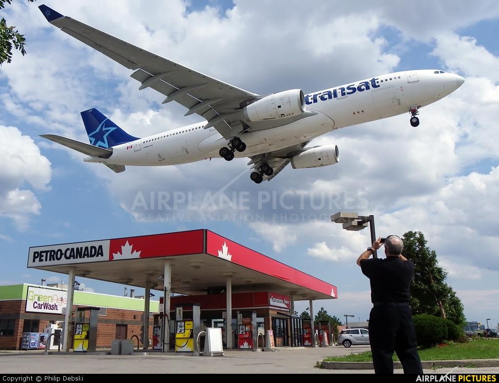 Air Transat C-GTSZ aircraft at Toronto - Pearson Intl, ON