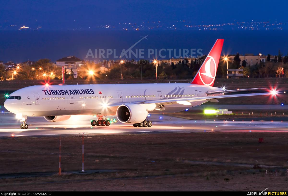Turkish Airlines TC-JJL aircraft at Istanbul - Ataturk