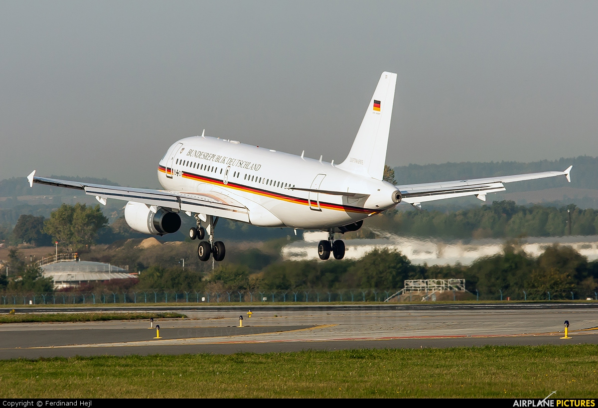 Germany - Air Force 15+01 aircraft at Prague - Václav Havel