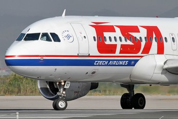 OK-MEI - CSA - Czech Airlines Airbus A320