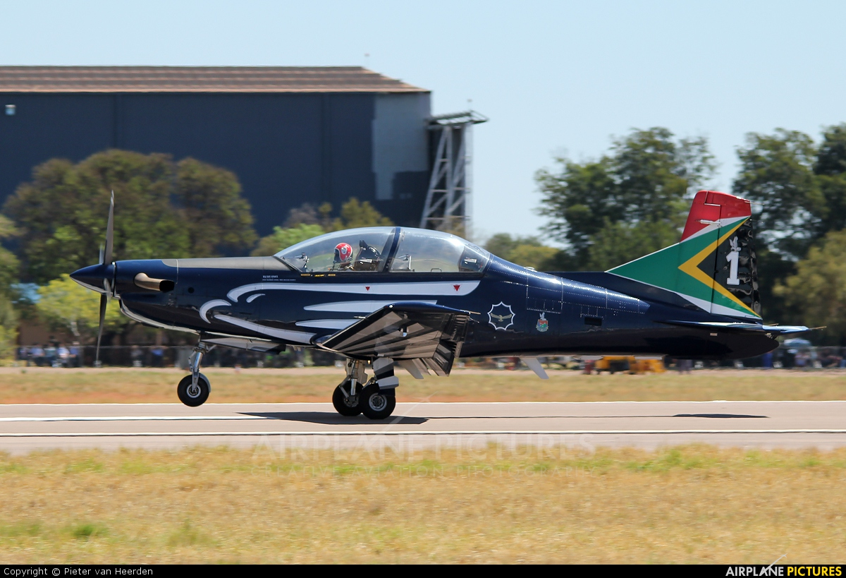 South Africa - Air Force: Silver Falcons - aircraft at Waterkloof