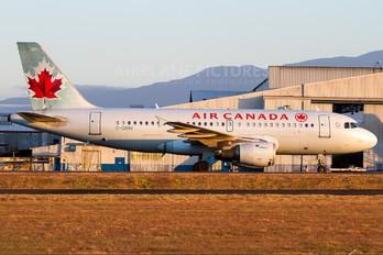 C-GBIM - Air Canada Airbus A319