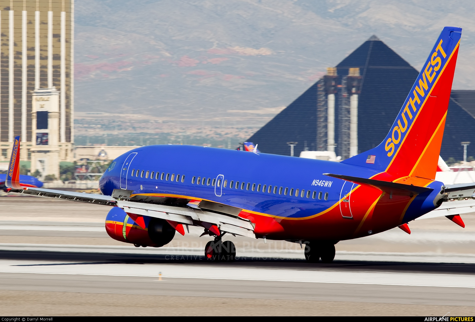 Southwest Airlines N946WN aircraft at Las Vegas - McCarran Intl