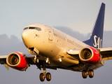 LN-RRP - SAS - Scandinavian Airlines Boeing 737-600 aircraft