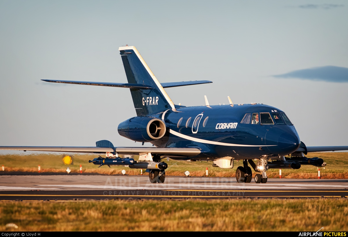 g frar fr aviation dassault falcon 20 at lossiemouth. Black Bedroom Furniture Sets. Home Design Ideas