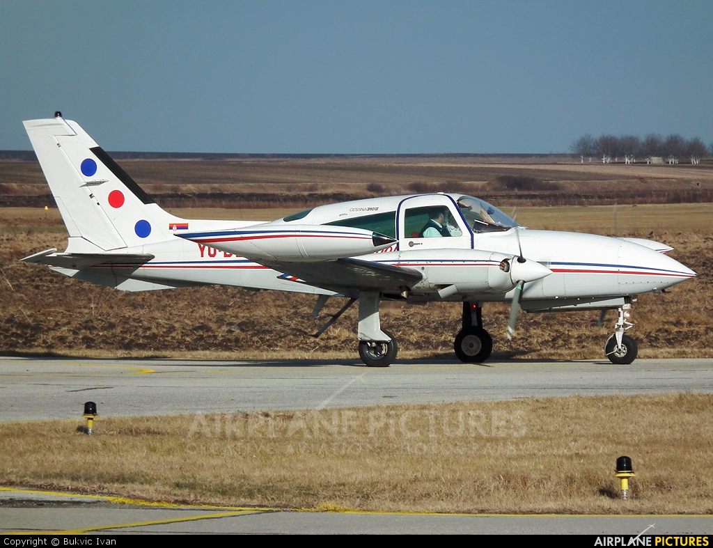 JAT Airways YU-BLM aircraft at Vršac