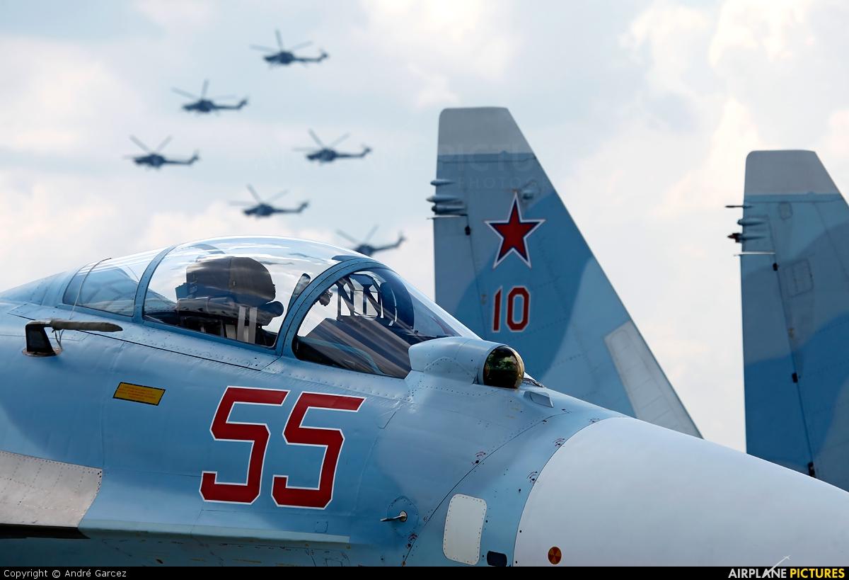 Russia - Air Force 55 aircraft at Ramenskoye - Zhukovsky