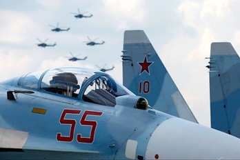 55 - Russia - Air Force Sukhoi Su-27SM3