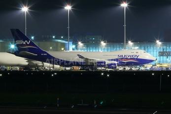 4K-800 - Silk Way Airlines Boeing 747-400F, ERF
