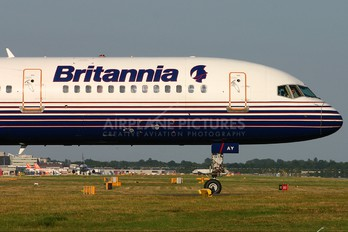 G-BYAY - Britannia Airways Boeing 757-200