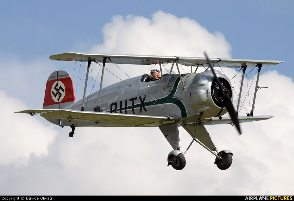 Private G-BUTX aircraft at Duxford