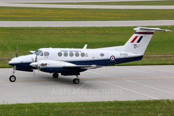 ZK455 - Royal Air Force Beechcraft 200 King Air