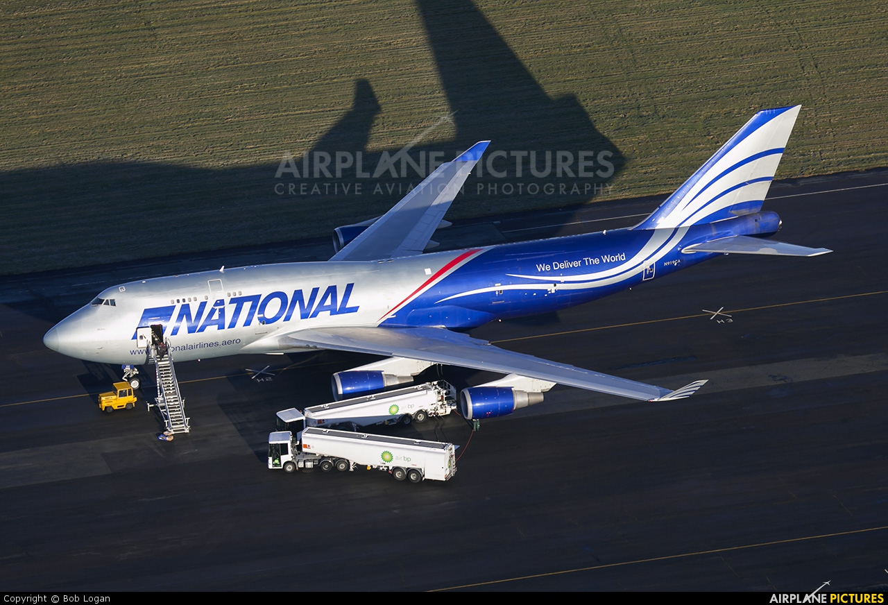 N919CA - National Airlines Boeing 747-400BCF, SF, BDSF at ...
