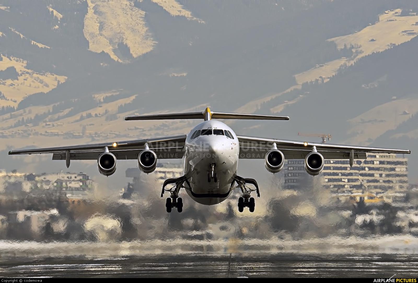Malmo Aviation SE-DSY aircraft at Innsbruck