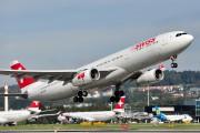 HB-JHF - Swiss Airbus A330-300 aircraft