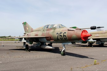 256 - Germany - Democratic Republic Air Force Mikoyan-Gurevich MiG-21UM