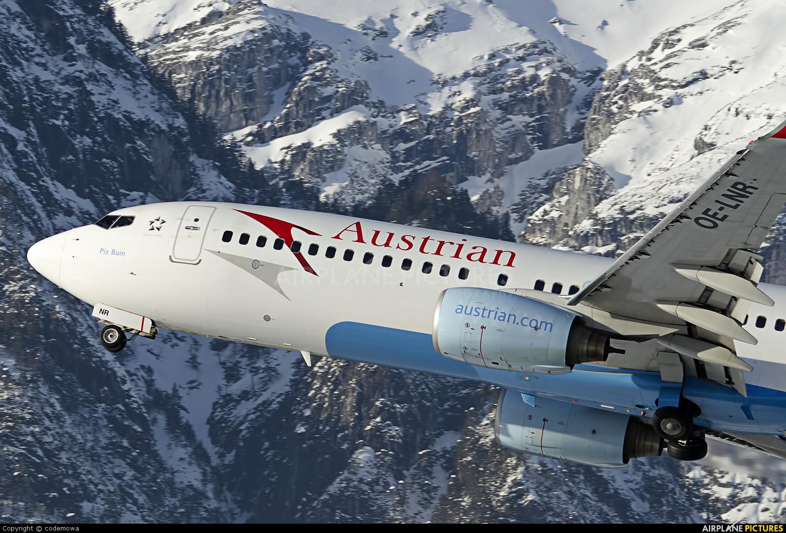 Austrian Airlines/Arrows/Tyrolean OE-LNR aircraft at Innsbruck