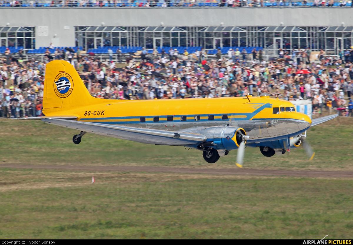 Valentuna Aviators 9Q-CUK aircraft at Ramenskoye - Zhukovsky