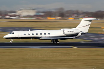 N785QS - Private Gulfstream Aerospace G-V, G-V-SP, G500, G550