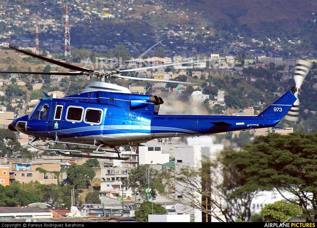 Honduras - Air Force 973 aircraft at Tegucigalpa - Toncontin