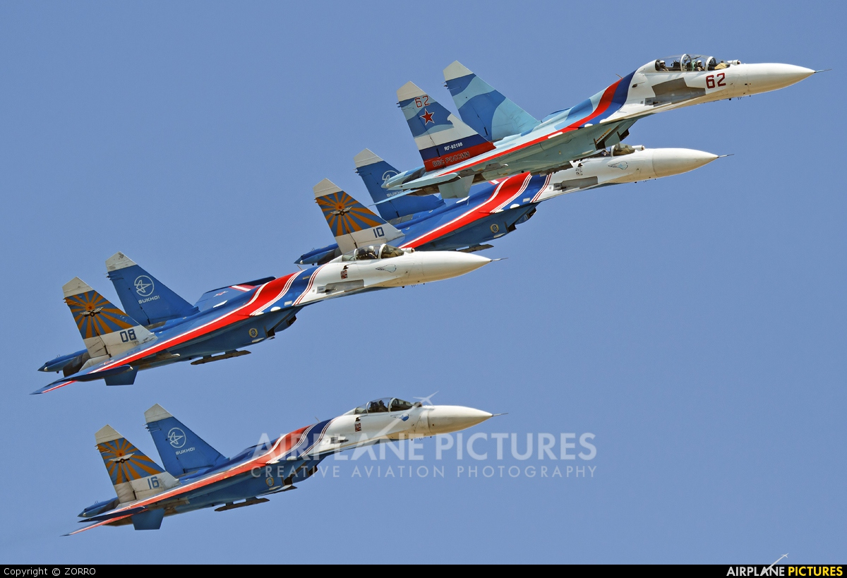 Russia - Air Force 62 aircraft at Ramenskoye - Zhukovsky