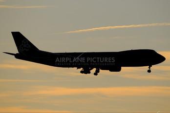 LX-VCF - Cargolux Boeing 747-8F
