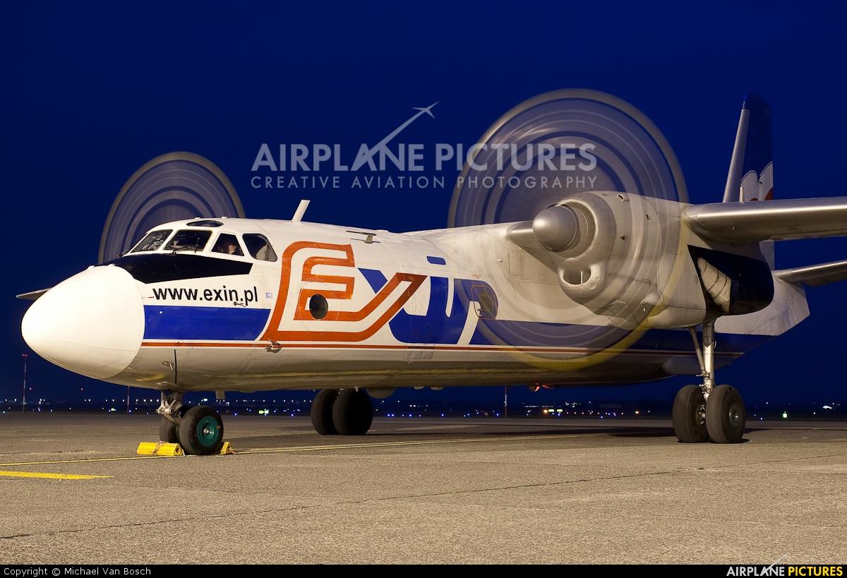 Exin SP-FDT aircraft at Ostend / Bruges
