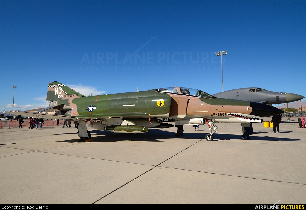 USA - Air Force 74-1627 aircraft at Nellis AFB