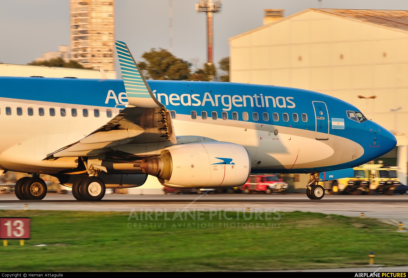 Aerolineas Argentinas LV-CPH aircraft at Buenos Aires - Jorge Newbery