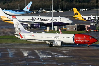 LN-DYB - Norwegian Air Shuttle Boeing 737-800