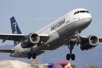 XA-MXS - Mexicana Airbus A320