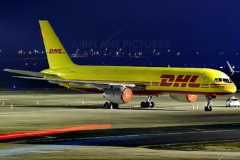 G-BIKV - DHL Cargo Boeing 757-200F