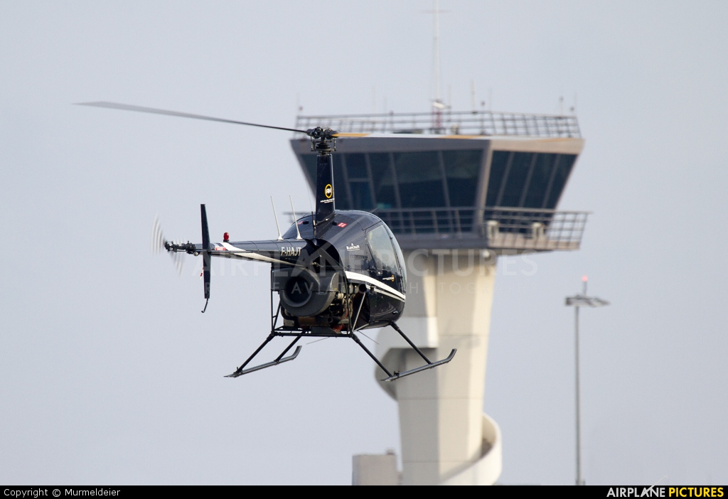Azur Helicoptere F-HAJT aircraft at Cannes - Mandelieu