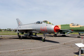 645 - Germany - Democratic Republic Air Force Mikoyan-Gurevich MiG-21F-13